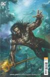 Cover for Justice League (DC, 2018 series) #12 [Lucio Parrillo Aquaman Movie Variant Cover]