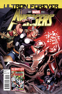 Cover Thumbnail for Avengers: Ultron Forever (Marvel, 2015 series) #1 [Retailer Incentive Mike McKone One Minute Later variant]