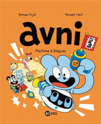 Cover Thumbnail for Avni (Milan Presse, 2014 series) #7 - Machine à blagues