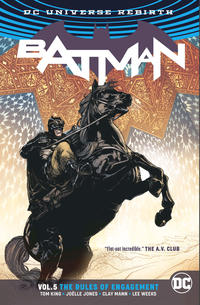 Cover Thumbnail for Batman (DC, 2017 series) #5 - The Rules of Engagement