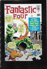 Cover Thumbnail for Komikai Micro Comics Ultimate Marvel (Spin Master, 2005 series) #[67] - Fantastic Four #1