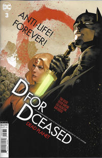 Cover Thumbnail for DCeased: Dead Planet (DC, 2020 series) #3 [Yasmine Putri Movie Homage Cardstock Variant Cover]