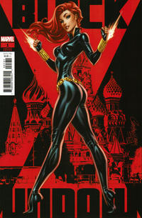 Cover Thumbnail for Black Widow (Marvel, 2020 series) #1 [J. Scott Campbell Variant Cover]