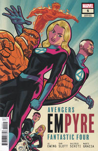 Cover Thumbnail for Empyre (Marvel, 2020 series) #5 [Michael Cho]