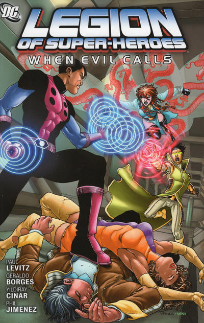Cover for Legion of Super-Heroes: When Evil Calls (DC, 2012 series)