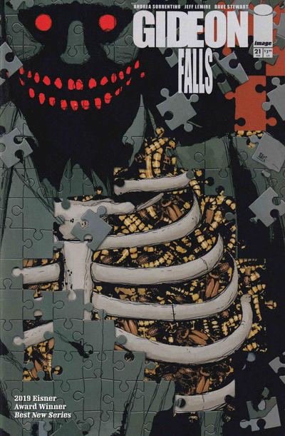 Cover for Gideon Falls (Image, 2018 series) #21 [Cover A by Andrea Sorrentino]