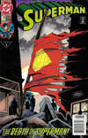 Cover Thumbnail for Superman (1987 series) #75 [Fourth Printing Newsstand]