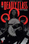 Cover for Deadly Class (Image, 2014 series) #43 [Cover A]