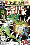 Cover for The Savage She-Hulk (Marvel, 1980 series) #23 [Direct]