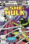 Cover for The Savage She-Hulk (Marvel, 1980 series) #22 [Direct]