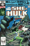 Cover for The Savage She-Hulk (Marvel, 1980 series) #24 [Direct]