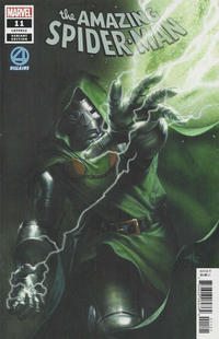 Cover Thumbnail for Amazing Spider-Man (Marvel, 2018 series) #11 (812) [Variant Edition - Fantastic Four Villains - Gabriele Dell'Otto Cover]