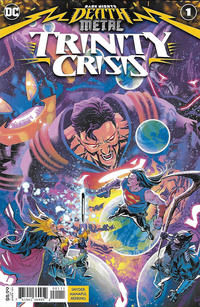 Cover Thumbnail for Dark Nights: Death Metal Trinity Crisis (DC, 2020 series) #1 [Francis Manapul Cover]