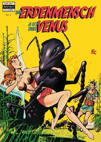 Cover Thumbnail for Fantasy Classics (ilovecomics, 2016 series) #4 - Ein Erdenmensch auf der Venus