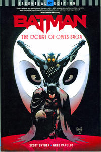 Cover Thumbnail for Batman: The Court of Owls Saga DC Essential Edition (DC, 2018 series)