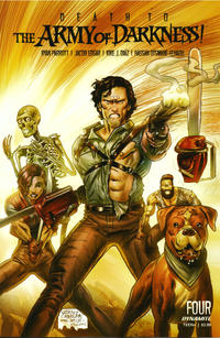 Cover Thumbnail for Death to the Army of Darkness (Dynamite Entertainment, 2020 series) #4 [Cover D Juan Gedeon]