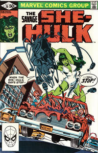 Cover Thumbnail for The Savage She-Hulk (Marvel, 1980 series) #20 [Direct]