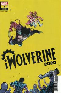 Cover Thumbnail for 2020 iWolverine (Marvel, 2020 series) #2 [Daniel Warren Johnson & Mike Spicer Variant Cover]