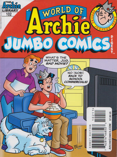 Cover for World of Archie Double Digest (Archie, 2010 series) #102