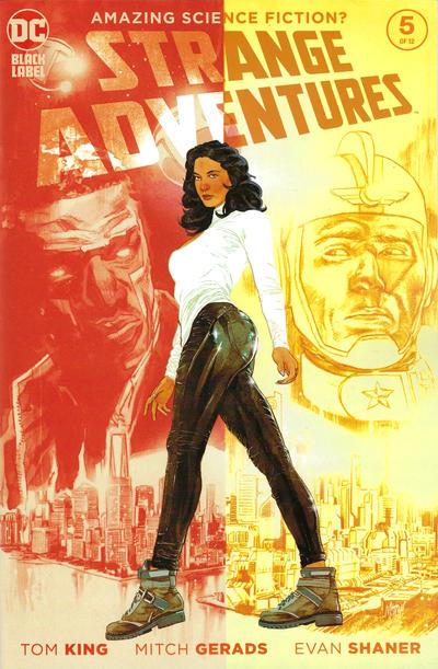 "Cover for Strange Adventures (DC, 2020 series) #5 [Evan ""Doc"" Shaner Variant Cover]"