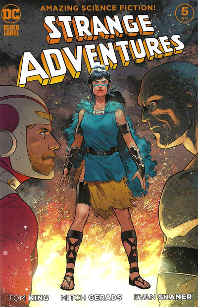 Cover for Strange Adventures (DC, 2020 series) #5