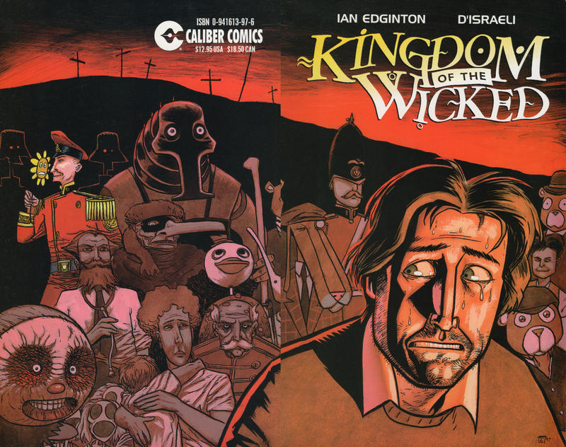 Cover for Kingdom of the Wicked (Caliber Press, 1997 series)