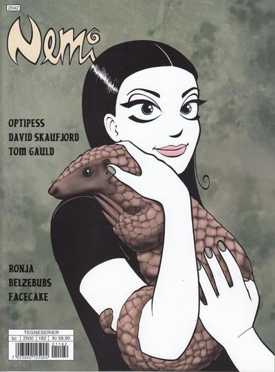 Cover for Nemi (Gyldendal Norsk Forlag, 2018 series) #182