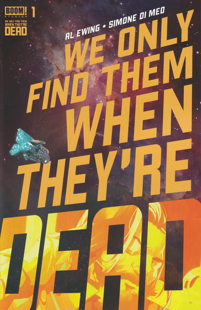 Cover for We Only Find Them When They're Dead (Boom! Studios, 2020 series) #1 [Dead God Variant Cover]