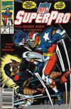 Cover for NFL Superpro (Marvel, 1991 series) #2 [Newsstand]