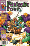 Cover for Fantastic Four (Marvel, 1998 series) #21 [Newsstand]