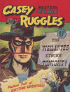 Cover for Casey Ruggles Western Comic (Donald F. Peters, 1951 series) #27