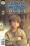 Cover for Star Wars: Episode I Anakin Skywalker (Dark Horse, 1999 series)  [Photo Cover Newsstand]