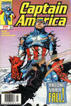 Cover for Captain America (Marvel, 1998 series) #17 [Newsstand]