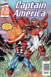 Cover for Captain America (Marvel, 1998 series) #25 [Newsstand]