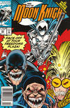 Cover Thumbnail for Marc Spector: Moon Knight (1989 series) #43 [Newsstand]