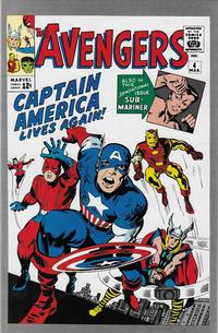 Cover Thumbnail for Avengers #4 [JC Penney Marvel Vintage Pack] (Marvel, 1993 series)