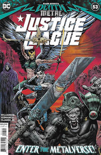 Cover Thumbnail for Justice League (DC, 2018 series) #53 [Liam Sharp Cover]