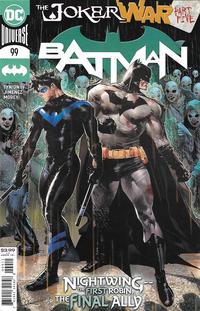 Cover Thumbnail for Batman (DC, 2016 series) #99