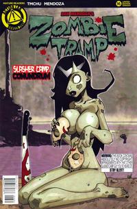 Cover Thumbnail for Zombie Tramp (Action Lab Comics, 2014 series) #16 [Dan Mendoza Variant Cover]