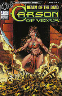 Cover Thumbnail for Carson of Venus: Realm of the Dead (American Mythology Productions, 2020 series) #3