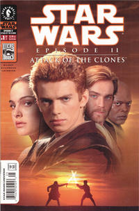 Cover Thumbnail for Star Wars: Episode II - Attack of the Clones (Dark Horse, 2002 series) #1 [Cover B - Photo Cover Newsstand]