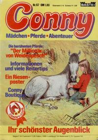 Cover Thumbnail for Conny (Bastei Verlag, 1980 series) #67