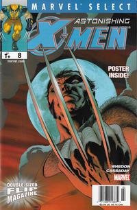 Cover Thumbnail for Marvel Select Flip Magazine (Marvel, 2005 series) #8 [Newsstand]