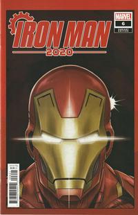Cover Thumbnail for Iron Man 2020 (Marvel, 2020 series) #6 [Superlog 'Heads']