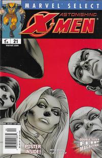Cover Thumbnail for Marvel Select Flip Magazine (Marvel, 2005 series) #21