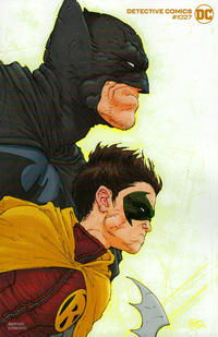 Cover Thumbnail for Detective Comics (DC, 2011 series) #1027 [Frank Quitely Variant Cover]