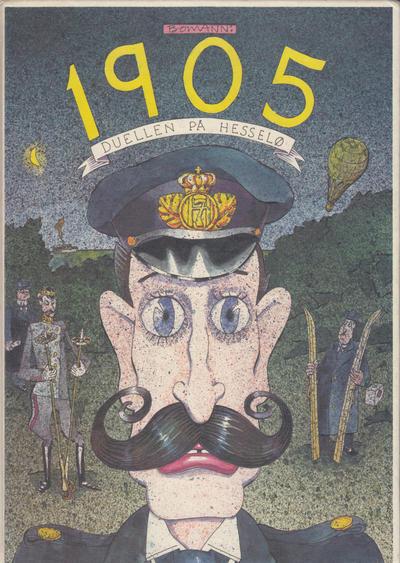 Cover for 1905 Duellen på Hesselø (Cappelen, 1985 series)