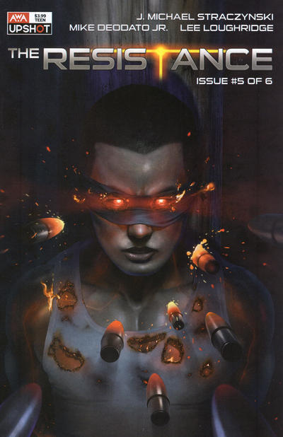 Cover for The Resistance (AWA Studios [Artists Writers & Artisans], 2020 series) #5