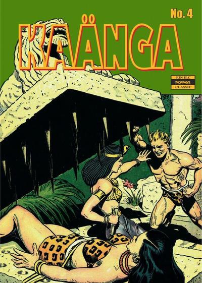 Cover for Kaänga (ilovecomics, 2018 series) #4