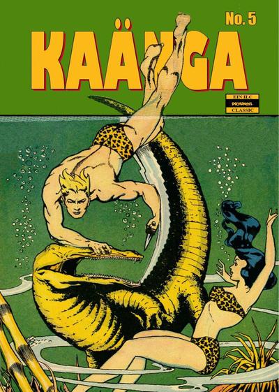Cover for Kaänga (ilovecomics, 2018 series) #5